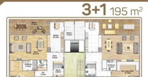 Moda Bademli örnek daire planları!