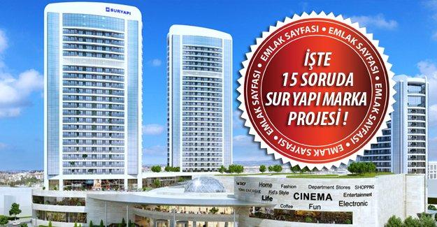 15 Soruda Sur Yapı Marka Rezidans Projesi!