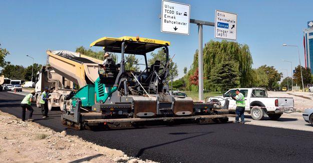 Ankara yol ve asfalt çalışmaları yarın bitiyor!