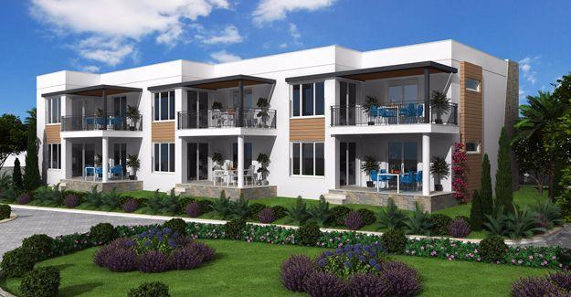 Fabay Adabükü Evleri'nde ister daire ister villa keyfi!