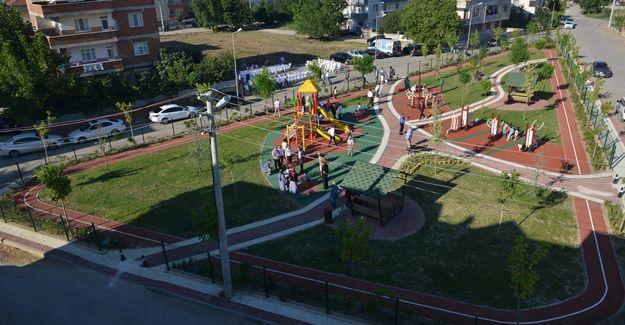 İnegöl Kemalpaşa Mahallesi'ne çocuk parkı!