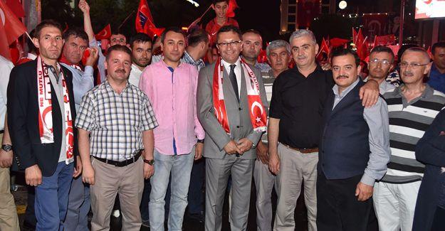 Altındağ Belediyesi'nden demokrasi şehitleri ailelerine ev!