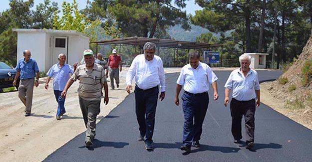 Antalya Senir Mahallesi yollarına asfalt döküldü!