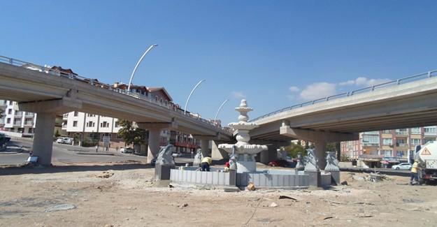 Başkent'in çehresini değiştirecek dekoratif havuzlar!