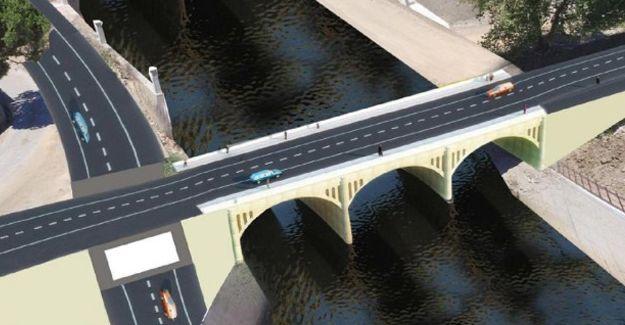 Çanakkale Biga'da Avcılar Köprüsü yıkıldı!