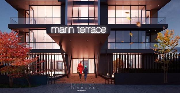 Marin Terrace Bağdat Caddesi'nde yükseliyor!