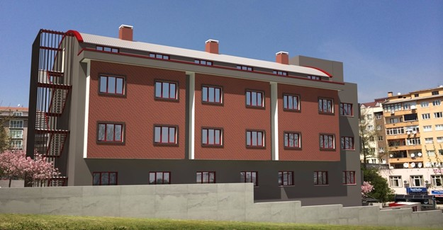 Nilüfer Belediyesi'nden 90 kişilik kız öğrenci yurdu!