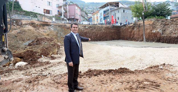 Osmangazi Geçit'e modern pazar yeri!