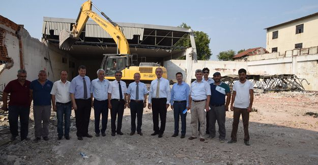 Sıcaksu Tabakhaneler Bölgesi'nde termal kent için büyük adım!