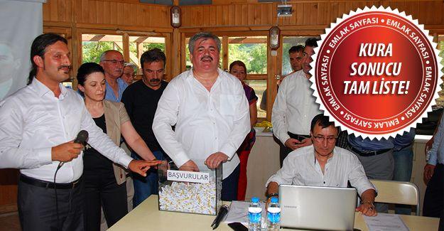 TOKİ Zonguldak Ereğli ve Devrek'te 526 emeklinin konutlarını belirledi!