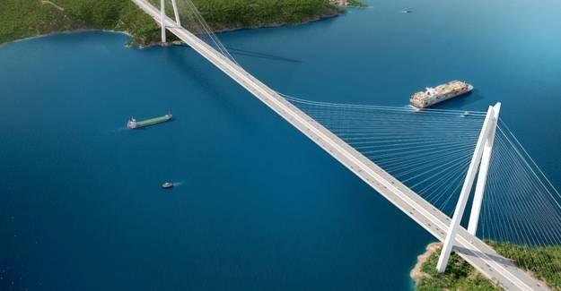Yavuz Sultan Selim Köprüsü açılış için gün sayıyor!