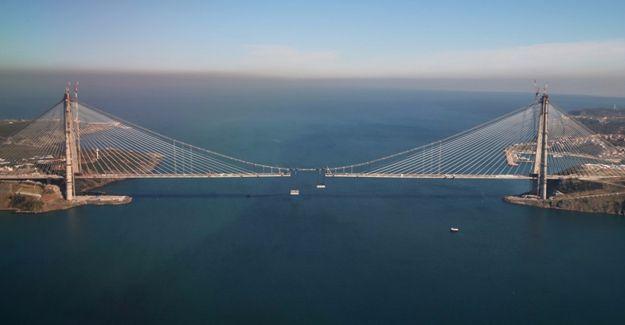Yavuz Sultan Selim Köprüsü'nde inşaat 10 gün sonra bitiyor!