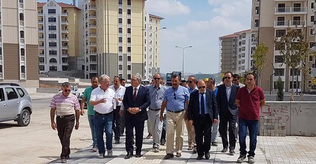 Başkan Turan, Kuzey Ankara şantiyesini gezdi!