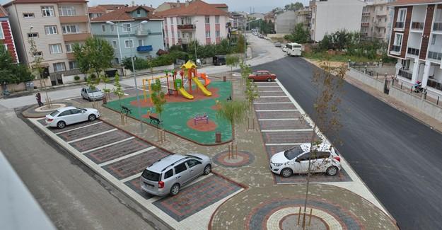 İnegöl'e bir otopark ve çocuk oyun alanı daha!