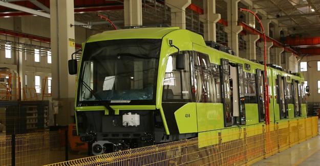 Kocaeli'nin tramvayları da Bursa'da üretiliyor!
