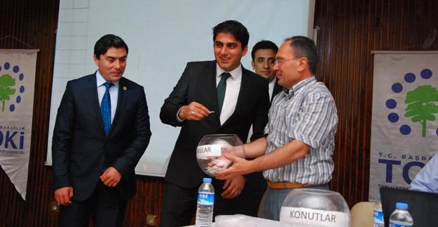 Konya Taşkent'te 108 hak sahibinin konutları belirlendi!