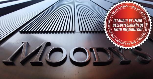 Moody's TOKİ'nin de kredi notunu düşürdü!