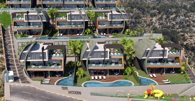 Tepe Modern Villaları / Antalya / Alanya