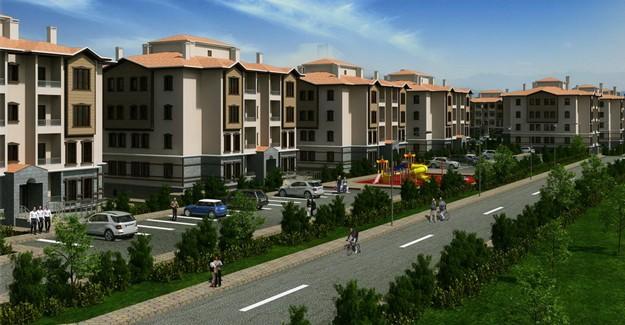 TOKİ'den Ankara Nallıhan'a yöresel mimaride 173 konut!