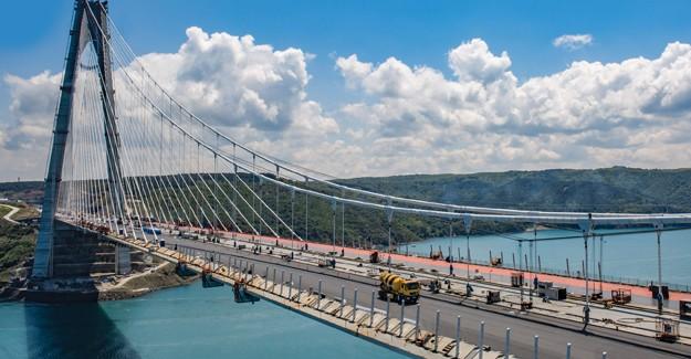 Yavuz Sultan Selim Köprüsü'nün betonu ödül aldı!