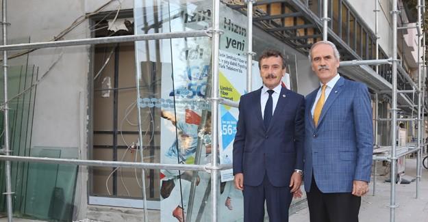 Yenişehir'in merkezi Büyükşehir ile yenileniyor!