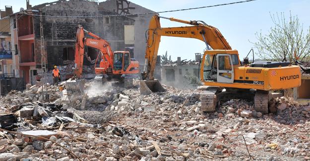 2016'da her gün 50 konut kentsel dönüşüm için yıkıldı!