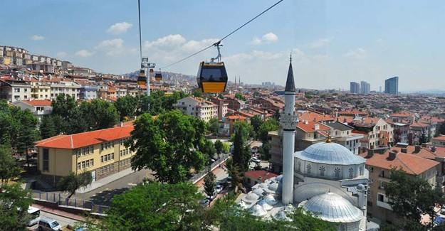 Ankara Şentepe Teleferiği yeniden hizmete açıldı!