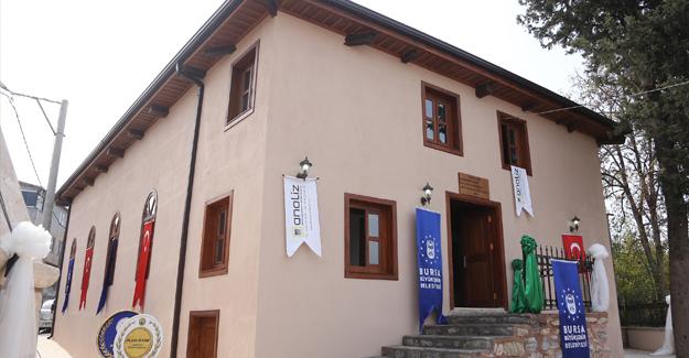 Bursa'da 4 asırlık cami restore edildi!