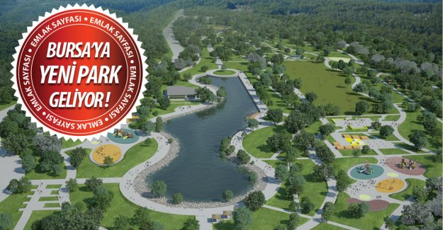 Bursa'ya yeni bir park daha geliyor! İşte yeri ve projesi...