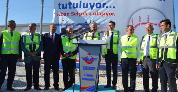 İZBAN'ın Torbalı Selçuk hattı 2017'de hizmete girecek!