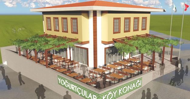 İzmir Torbalı'da Yoğurtçular Köy Konağı'nın inşası başladı!
