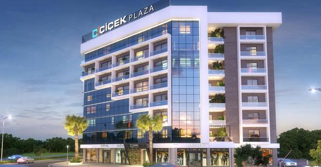 İzmir'de 164 ofisli Çiçek Plaza açıldı!