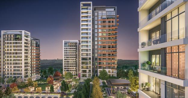 Nidapark Kayaşehir'in ön satış döneminde 216 ev satıldı!