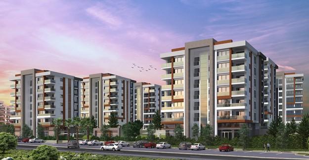 Panorama Evleri 2 Antalya projesinin temeli atıldı!