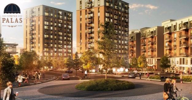 Sinpaş Yapı'dan yeni proje; Sinpaş Palas Finans Şehir