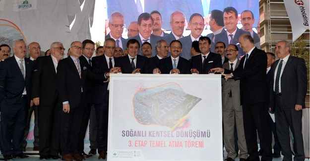 Osmangazi Soğanlı kentsel dönüşümde 3. kısmın temeli atıldı!