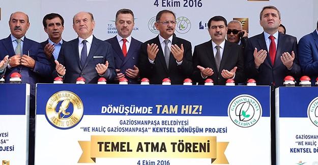 We Haliç projesinin temeli atıldı!