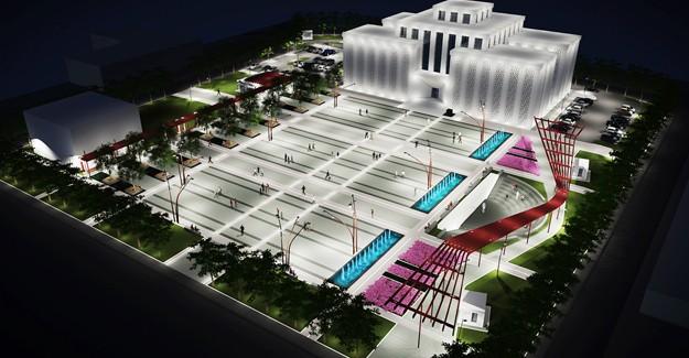 Antalya Döşemealtı'nın ilk kent meydanında sona yaklaşıldı!