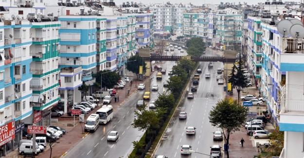 Antalya Muratpaşa'da binalar Akdeniz renklerine boyanıyor!