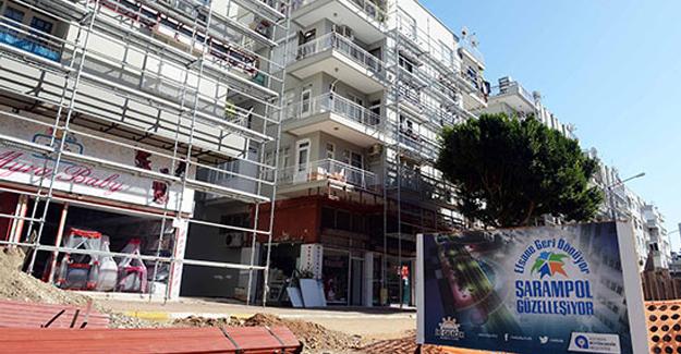 Antalya Şarampol Caddesi'nde otopark sorunu çözülüyor!