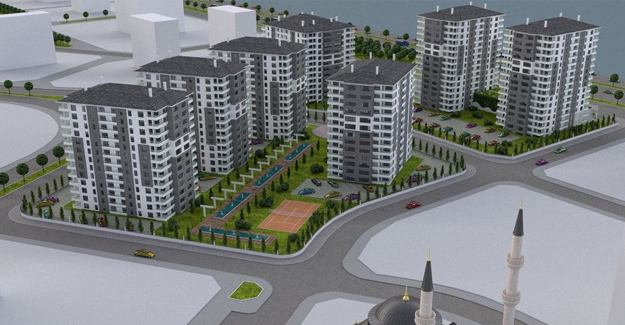 Başakşehir Ankara projesi Ankara Yenibatı'da yükseliyor!
