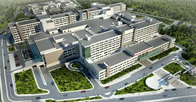 Eskişehir Şehir Hastanesi'nde bu yöntemle kışında inşaat devam edecek!