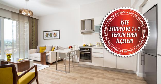 Konut yatırımcısının yeni gözdesi stüdyo ve 1+1 daireler!