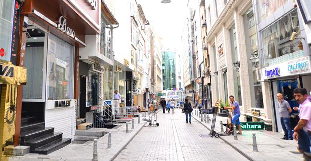 Laleli'de dükkan kiraları yüzde 40 düştü!