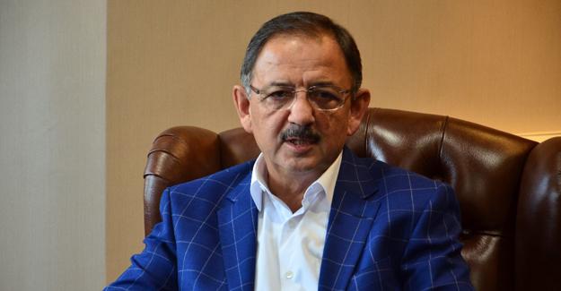 Özhaseki, 'Ülke genelinde dönüşüm için 2,5 milyar harcandı!'