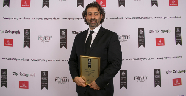 Sea Homes Çeşme projesine uluslararası ödül!
