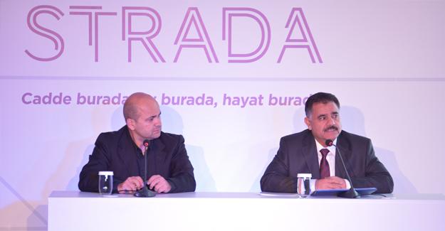 Strada Bahçeşehir projesinin lansmanı yapıldı!
