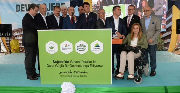 'Soğanlı'da konutlar 2017'de teslim edilecek'!