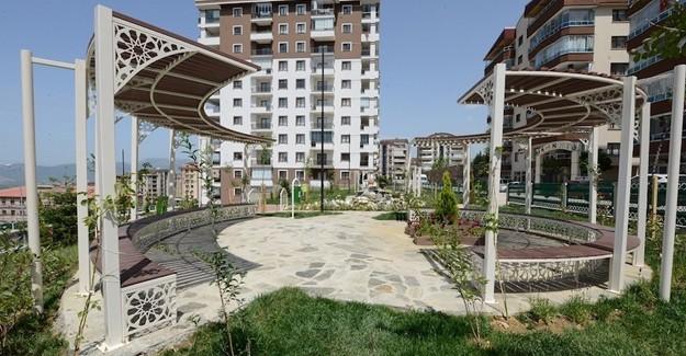 Yıldırım'ın çehresi parklarla güzelleşiyor!