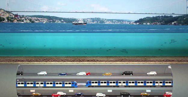 3 Katlı Büyük İstanbul Tüneli Projesi'nin ihalesi yarın yapılacak!